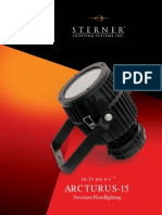 Sterner Infranor Arcturus-15 Series Brochure 2004