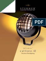 Sterner Infranor Callisto-12 Series Brochure 2002