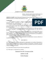 10. Modelo de Decreto - Padrão Descritivo de Medicamentos
