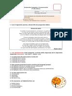 Evaluación Lenguaje y Comunicación poemas 5°