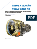 Motor a Reao GE Modelo CFM56-7