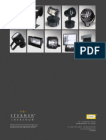 Sterner Infranor Floodlights Overview Brochure 2005