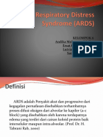 Ppt Acute Respiratory Distress Syndrome (ARDS)