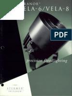 Sterner Infranor Vela-6 & Vela-8 Brochure 1998