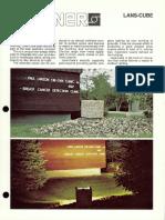 Sterner Infranor Lans-Cube Brochure 1987