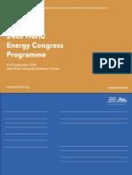 world energy consul