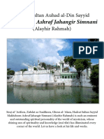 Makhdoom Ashraf Jahangir Simnani