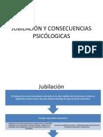 Jubilación y consecuencias psicológicas