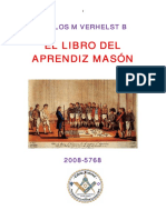 El Libro Del Aprendiz Masón Carlos Manuel Verhelst