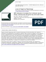 Jurnal Cognitive Psychology