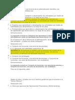 Examen de Procesos Yy Teorias Administrativasunidad 1