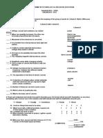 Diagnostic Test Elctrncubd