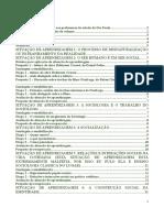 Fichamento do Caderno de Sociologia 1a série vol. I