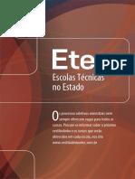 ETEC - Escolas Técnicas no Estado