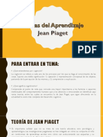 Teorias de Aprendizaje Piaget