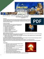 1 on the Brink of Armageddon Outline PDF