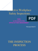 Workplace Inspection Training