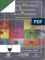 Clara Isabel Carpy, Miradas históricas de la educación y de la pedagogía