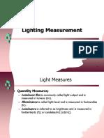Sesi 14 - Lighting Measurement