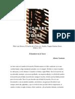 Reseña para la novela de Pablo Lazo Briones