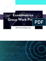 WQU Econometrics Group Work Project