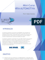 MINI-CURSO Eng. Automotiva