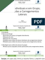 Estacas Individuais e em Grupo, Submetidas a carregamentos laterais.pptx