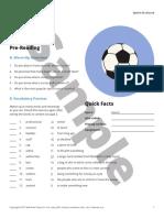 Football reading