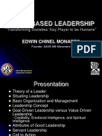 1Module - Value Driven Leadership.ppt
