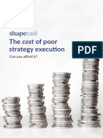 The Cost of Poor Strategy Execution