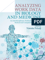 Nataša Pržulj (Editor) - Analyzing Network Data in Biology and Medicine_ an Interdisciplinary Textbook for Biological, Medical and Computational Scientists-Cambridge University Press (2019) (1)