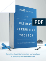 2018 Ultimate Recruiting Toolbox Staffing