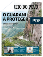 O guarani a proteger. Correio do Povo, RS