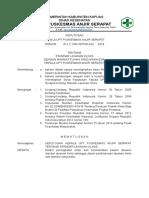 9.2.2.1. Sk Standar Layanan Klinis