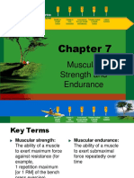 Muscle and Strength Endurance