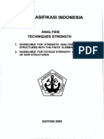 ( Vol 6 ),2005 Guidelines for Analysis Techniques Strength,2005