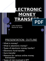 Electronic Money Transfer