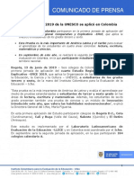 30. Inició aplicación de la Prueba ERCE 2019 de la UNESCO en Colombia.pdf