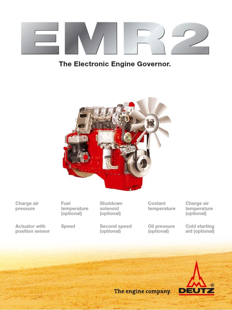 emr2 flyer en diesel engine electrical engineering rh fr scribd com deutz emr2 manual Deutz Repair Manual