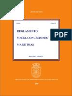 Reglamento sobre concesiones marítimas