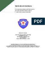 1. Program Kerja PMR 2019-2020