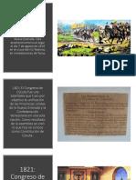 Linea del tiempo 1819- 2019