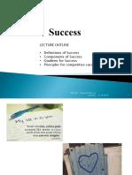 2. Success & Principles for Competitive Success