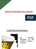 Ejemplo de Análisis Estratégico Del Entorno