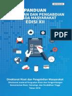 Panduan Penelitian dan Pengabdian kepada Masyarakat Edisi XII Revisi Tahun 2019 (1).pdf