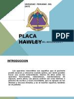 Placa Hawley Martin