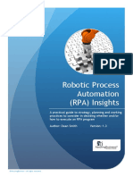 Robotic Process Automation RPA Strategy and Practice v1.3