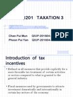 Bac3201 Taxation 3