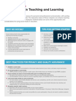 Odee Best Practices for Social Media in Teaching and Learning