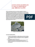 Antena Directv Para Wi-fi Ieee 802 13